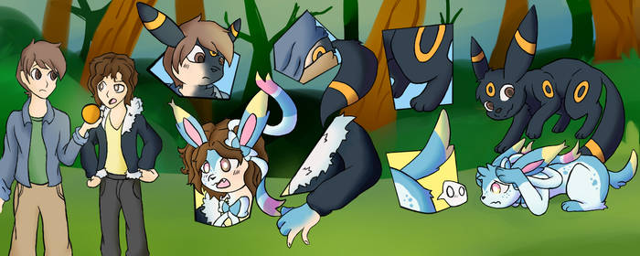 Umbreon and sylveon TF
