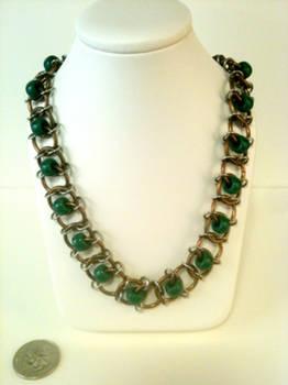 Glass Green Beads