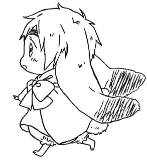 Iggy Rabbit Lines :D by xYunex