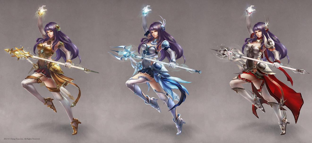 Magic Swordsman-female by ChangYuanJou