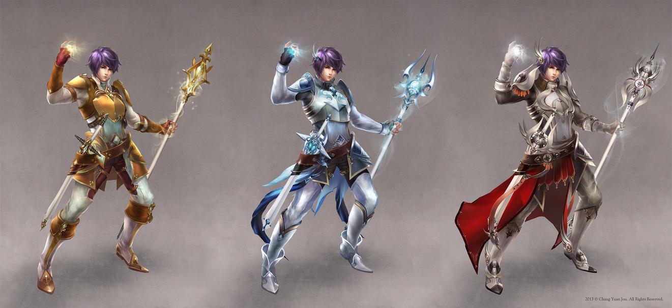 Magic Swordsman-male by ChangYuanJou