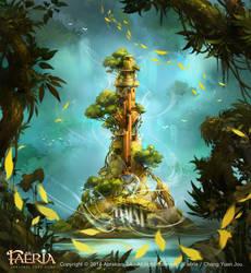 Faeria-Overgrown Tower