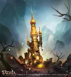Faeria-Deserted Tower