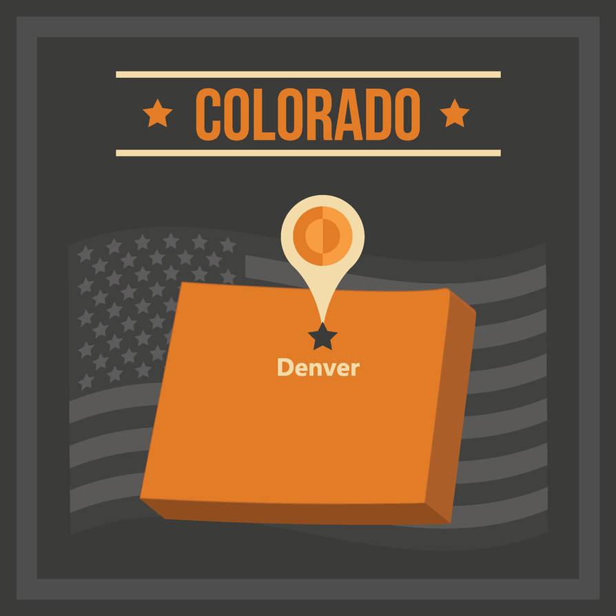 Pin Denver Co
