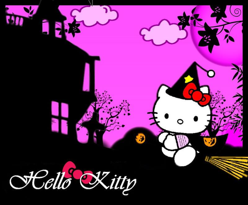 halloween kitty by night-love-art on DeviantArt