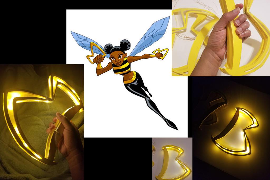bumblebee prop progress by BriBarnes