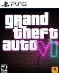 GTA 6 PS5 Box Art