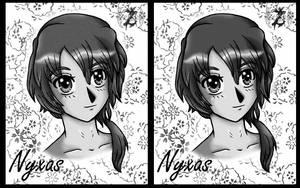 Nobody - Nyxas Grayscale by Zerxes