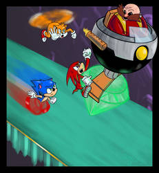 Sonic 3: Turning Point by Emperorsteele