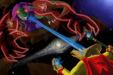 Dino-Wizards from Outer Space by Emperorsteele