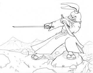 Usagi Yojimbo by Emperorsteele
