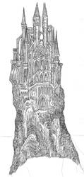 King Haggard's Castle by Drago-the-Dark-Klown