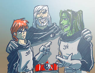 Family Argument by Drago-the-Dark-Klown