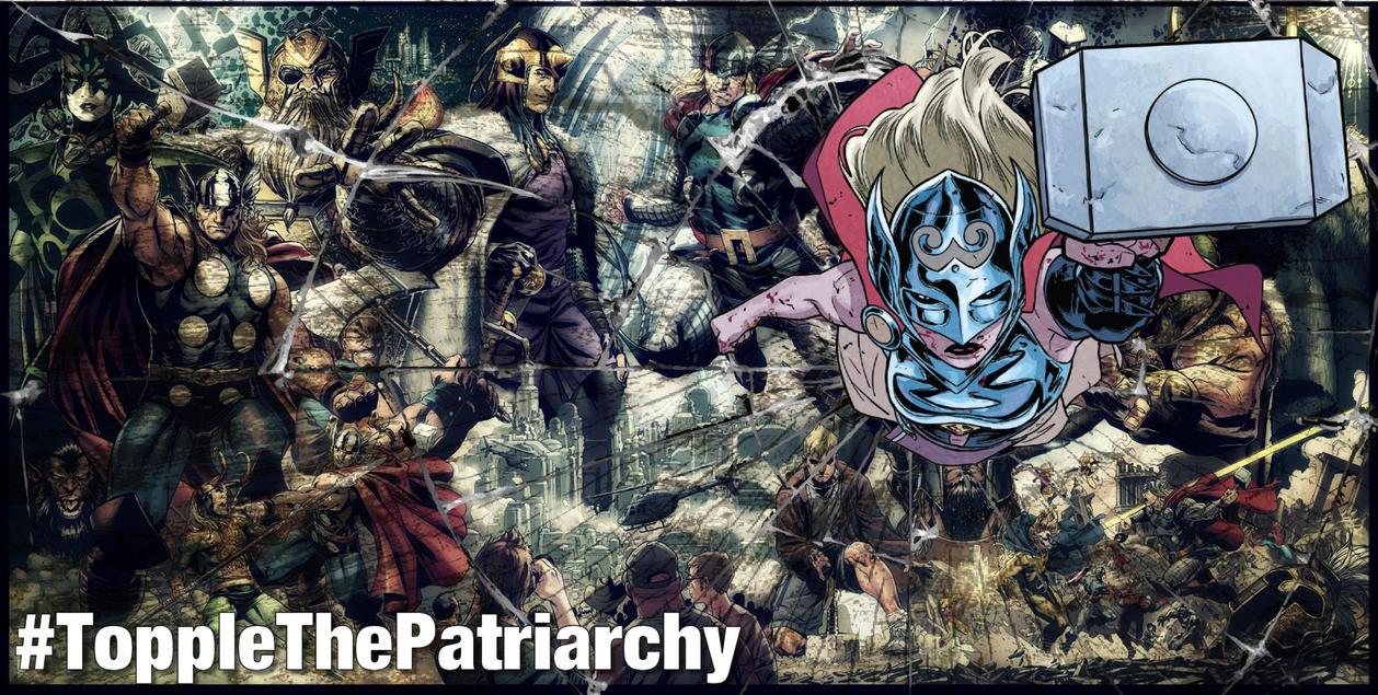 ToppleThePatriarchy by valeriak