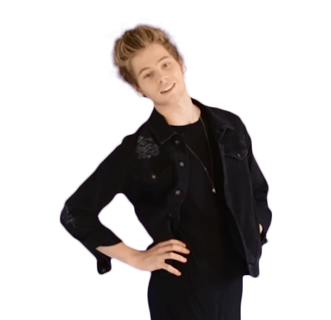 luke hemmings transparent