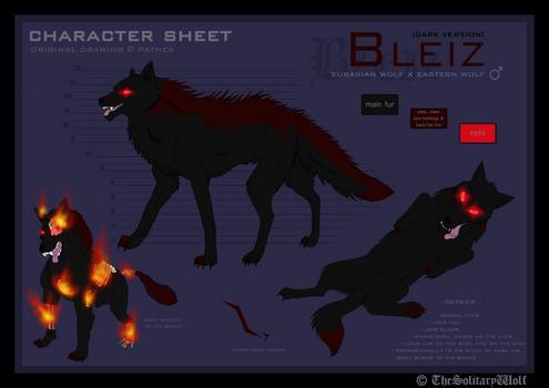 Bleiz - Character sheet [dark version]
