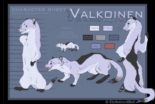 Valkoinen - Character sheet