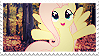 Fluttershy autumn stamp. by Mayaliicious