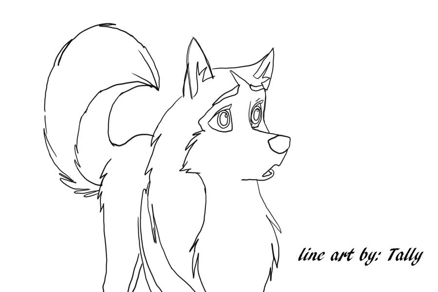 Balto Jenna Coloring Pages - #LLLL