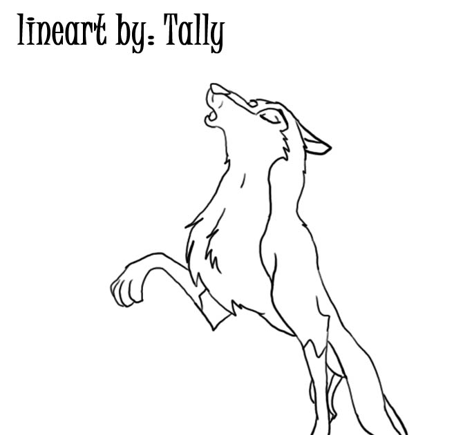 balto howling coloring pages - photo #14
