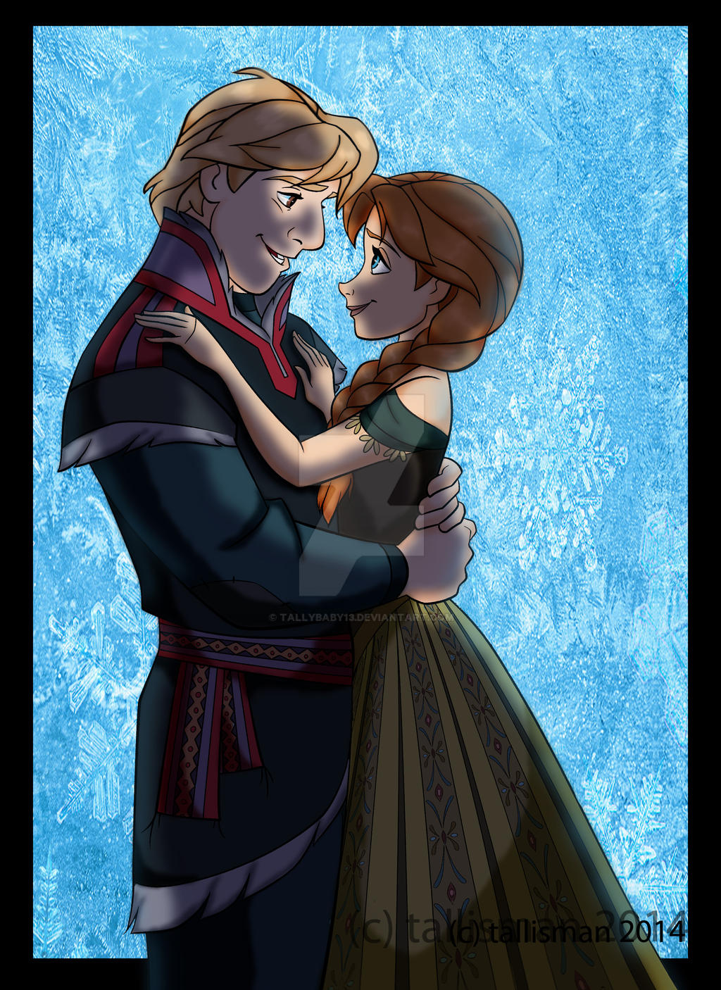 Anna and Kristoff by TallyBaby13 on DeviantArt