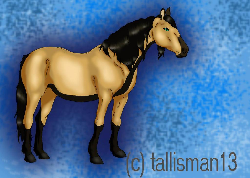 Tallisman Horse by TallyBaby13
