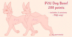 PRICE LOWERED P2U Dog Base(100 points)