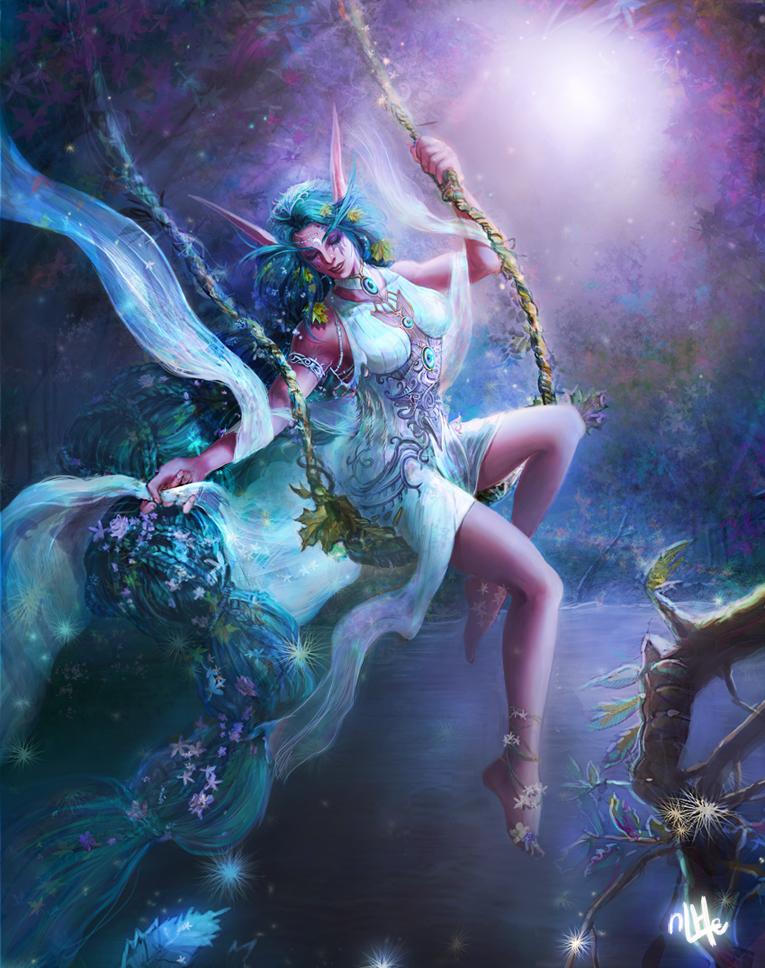 Tyrande Whisperwind by Minhee-Kim