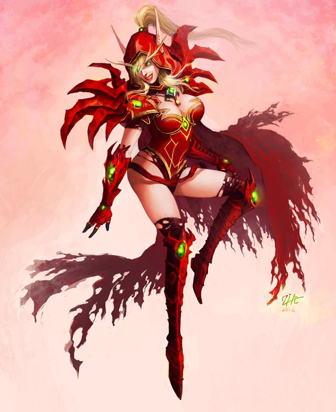 Valeera sanguinar by Jaydekim