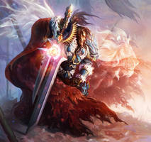 The Lion of Alliance - Varian Wrynn by Jaydekim