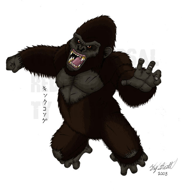 KING KONG redesign by Tyzilla33191