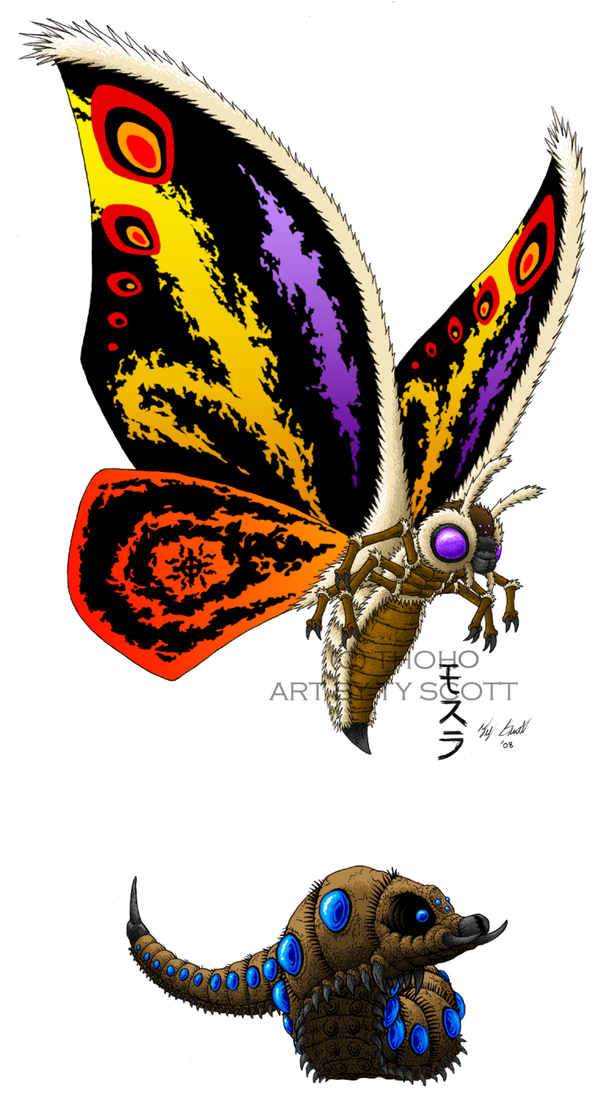 MOTHRA redesign by Tyzilla33191