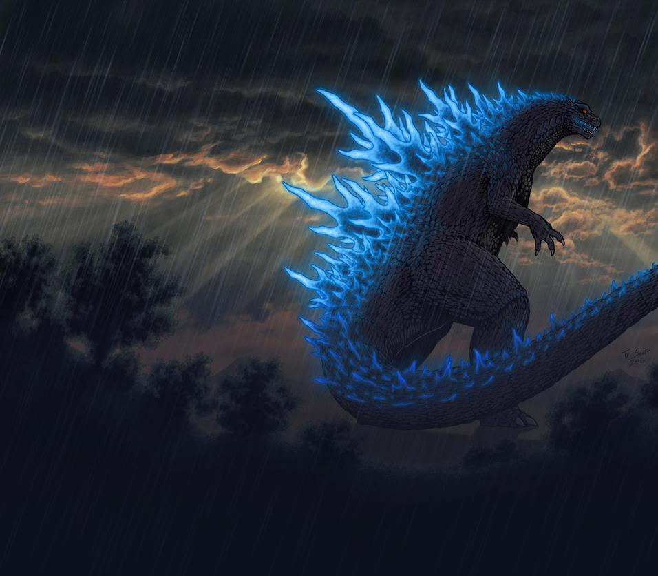 Godzilla by Tyzilla33191