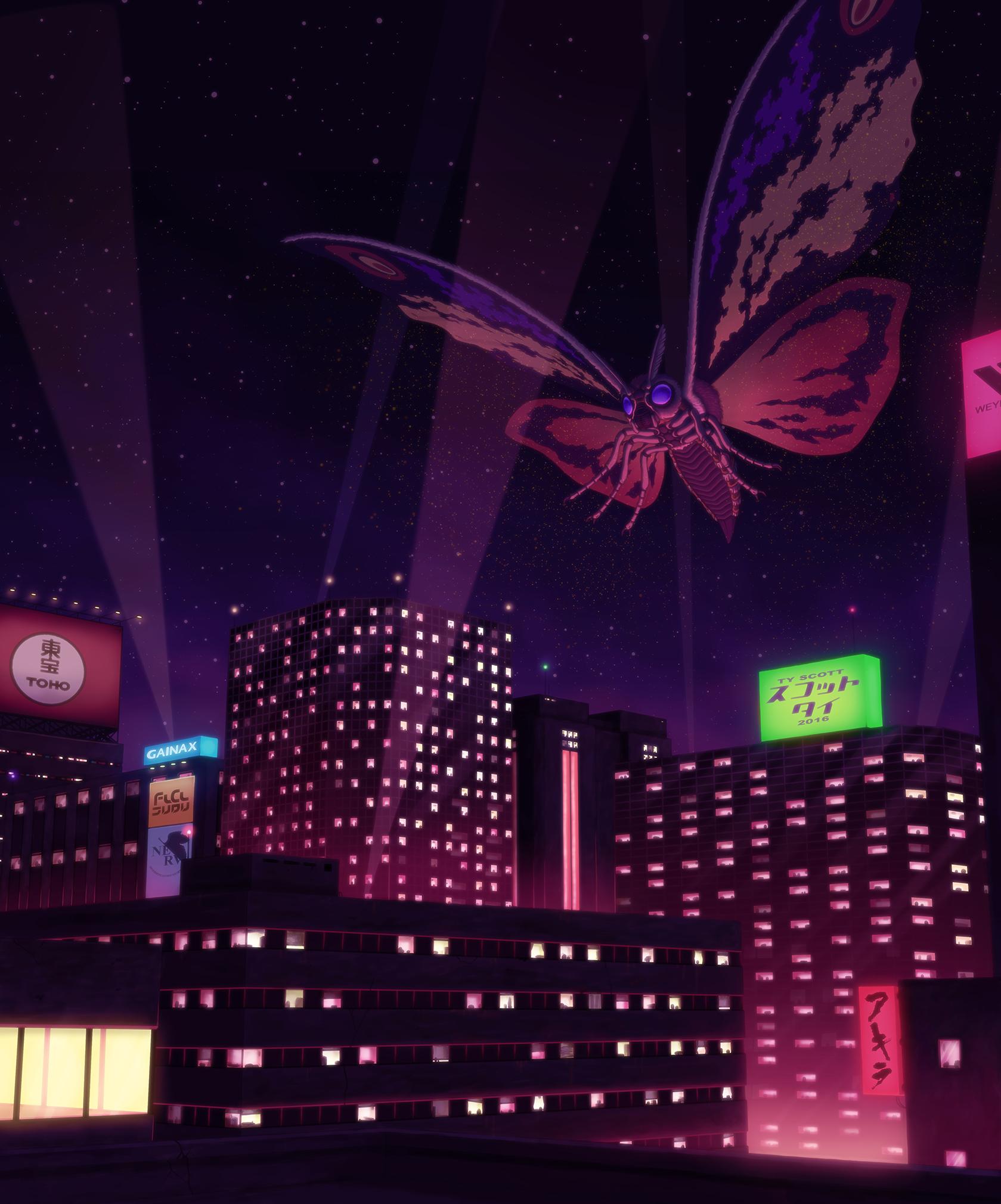 Mothra by Tyzilla33191