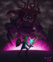 The Legend of Zelda: Link vs. Ganon by Tyzilla33191