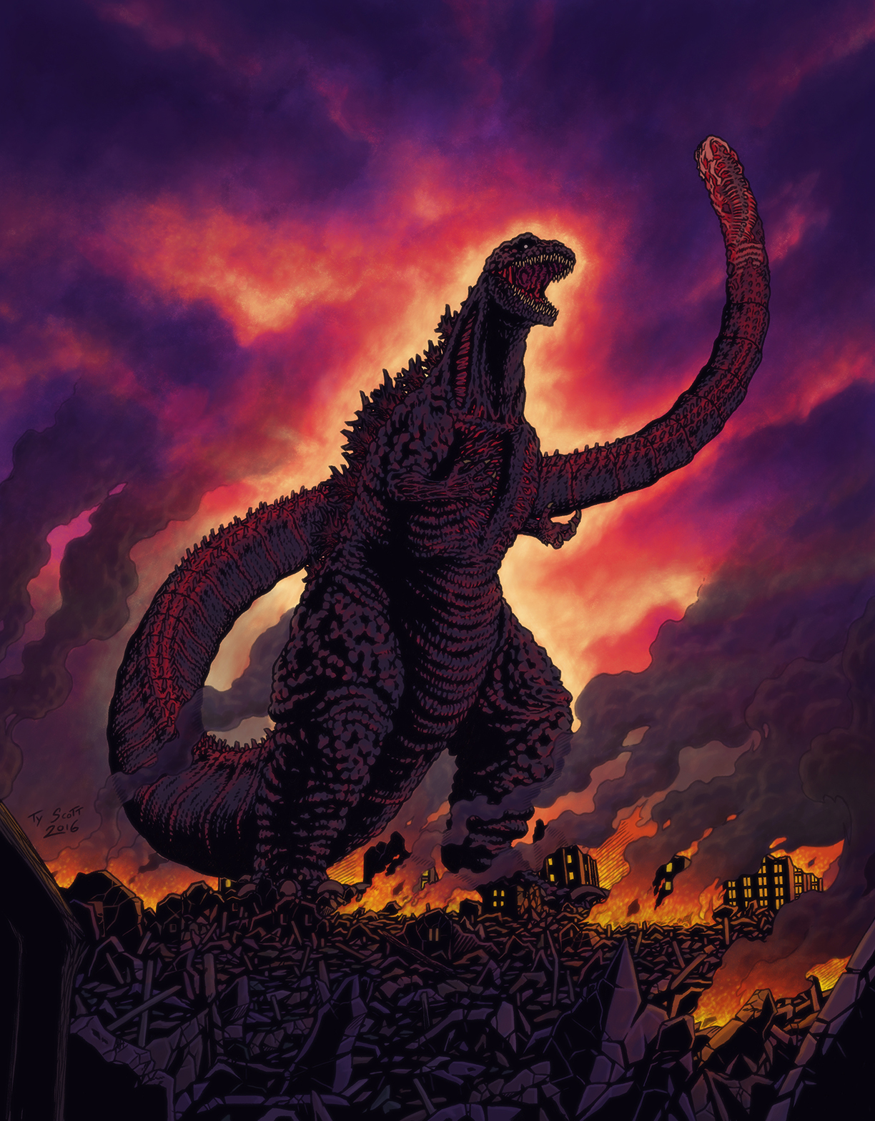 Shin Gojira By Tyzilla33191 On Deviantart