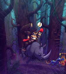 Donkey Kong by Tyzilla33191