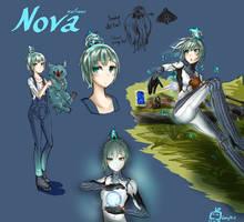 Warframe  Human looks ll Nova ll by Expofelementals