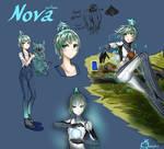 Warframe  Human looks ll Nova ll