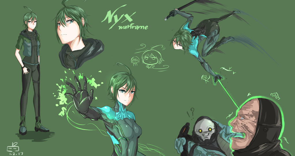 Nyx Human/Anime  looks by Expofelementals