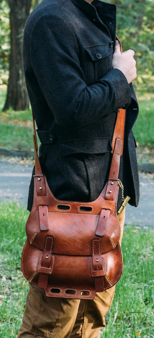 Steampunk style Saddle Bag by Ulfhednar-Workshop