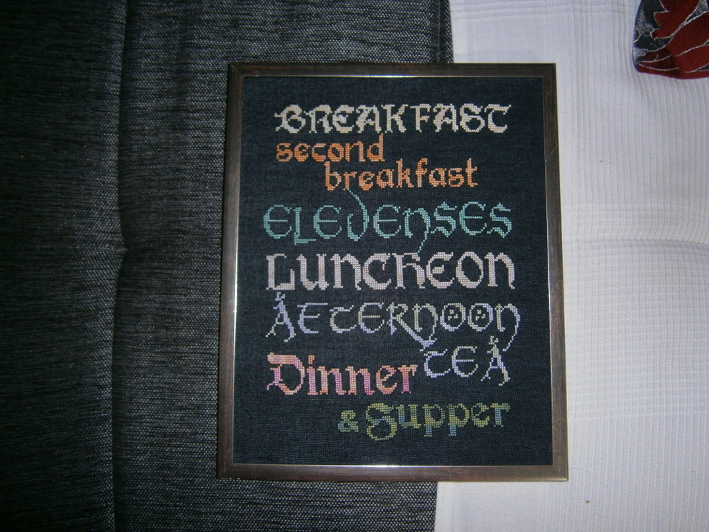 The Hobbit Meal Plan by Fusainne