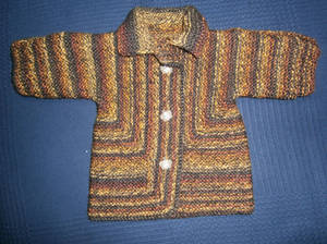 Baby Surprise Jacket - Brown/Yellow