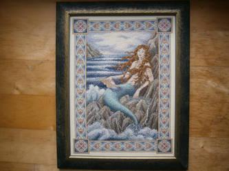 The Mermaid by Fusainne