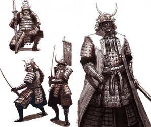 Samurai by Teffles