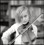 The kid and the violin