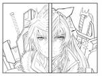 Chapter 00 part 1 and part 2 cover lineart