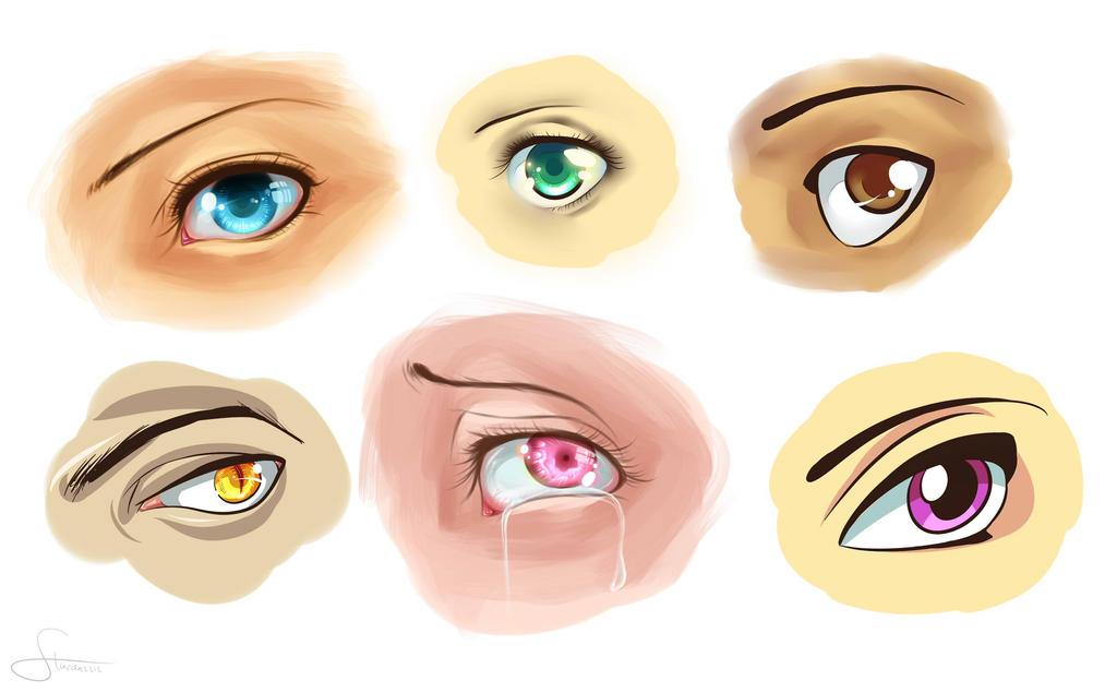 eyes eyes eyes by stardazzle