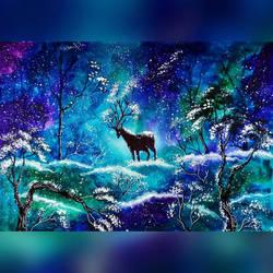 Fantasy deer by Kentrkatty1