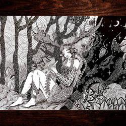 magick forest by Kentrkatty1